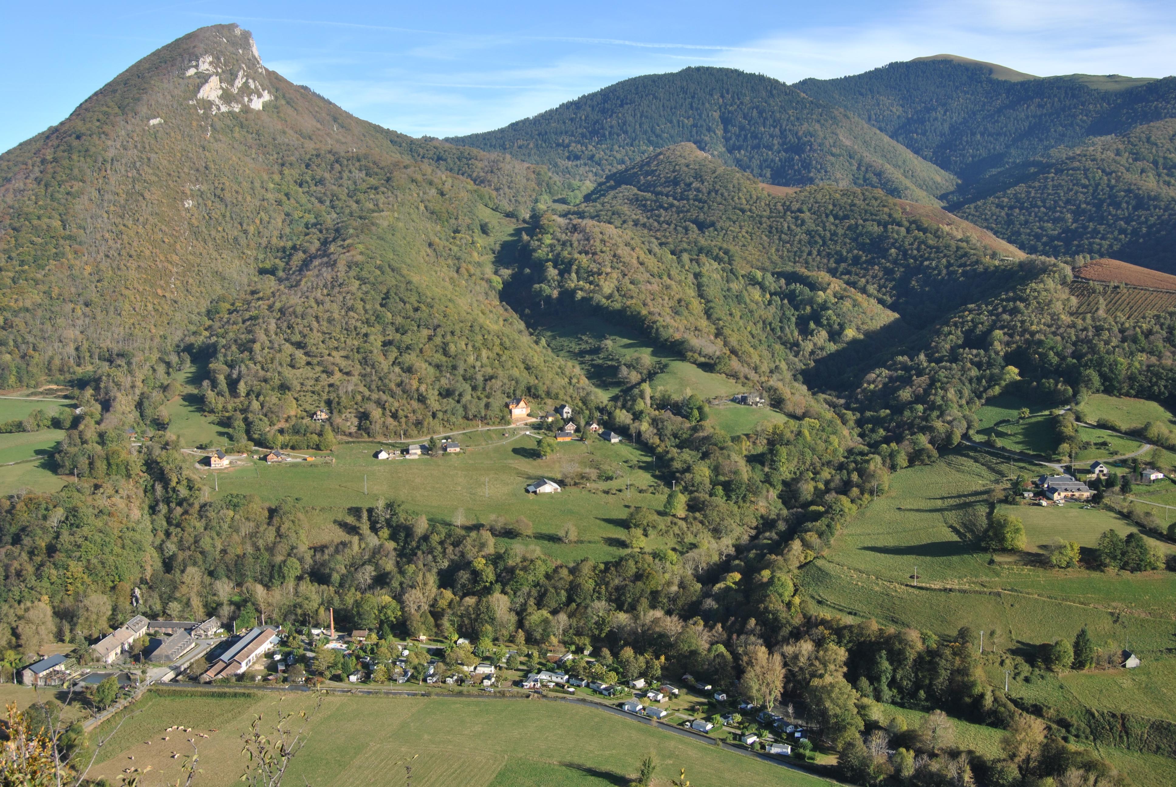 au centre des Pyrénées